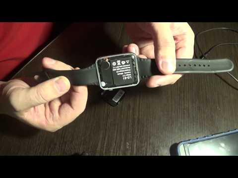 Smart Watch A1 Не реагируют на зарядку