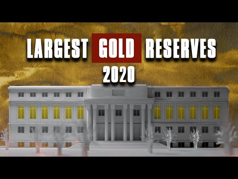 LARGEST GOLD RESERVES - Top 6 Countries with Largest Gold Re