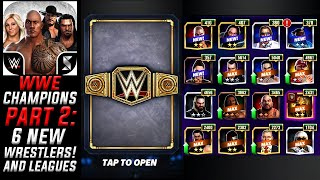 6 NEW Wrestlers Unlocked! WWE Champions Update (Leagues)  - Swipe Gameplay - Part 2 - iOS/Android screenshot 5