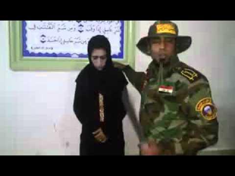 member of lsis dressed as women. Hehehehe