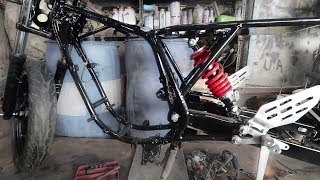 Modified Bikes Chassis Original Look | BSB VLOGS