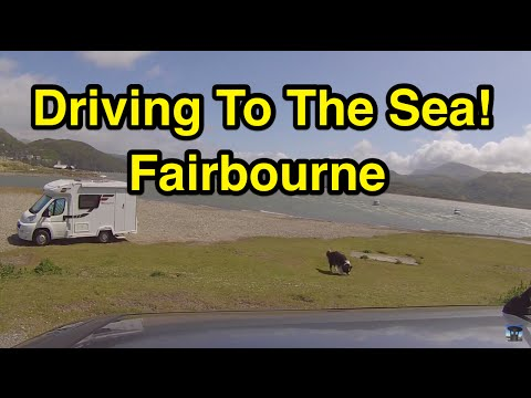 Driving To The Sea! Fairbourne
