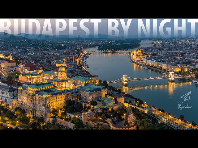 Budapest By Night 2020 - Aerial video - Autel EVO2 Pro