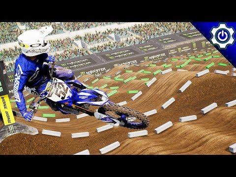 Monster Energy Supercross - 2018 Salt Lake City SX Gameplay