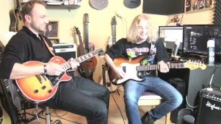 Unterrichtsprojekt Musikschule Stadtler: Robin mit Motörhead-The Hammer