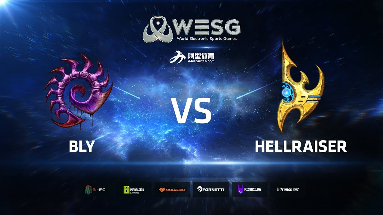 WESG Ukraine - Winners Final: Bly (Z) vs HellraiseR (P)
