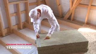 видео Пол каркасного дома на сваях, устройство и пирог конструкции