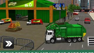 City Cleaner Garbage Truck Driving Games Android Gameplay