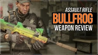 The Division | Bullfrog (Weapon Review)