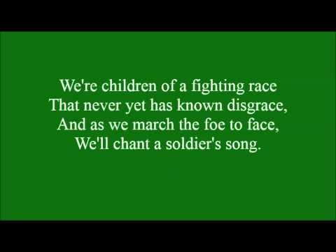 Soldiers Song with lyrics