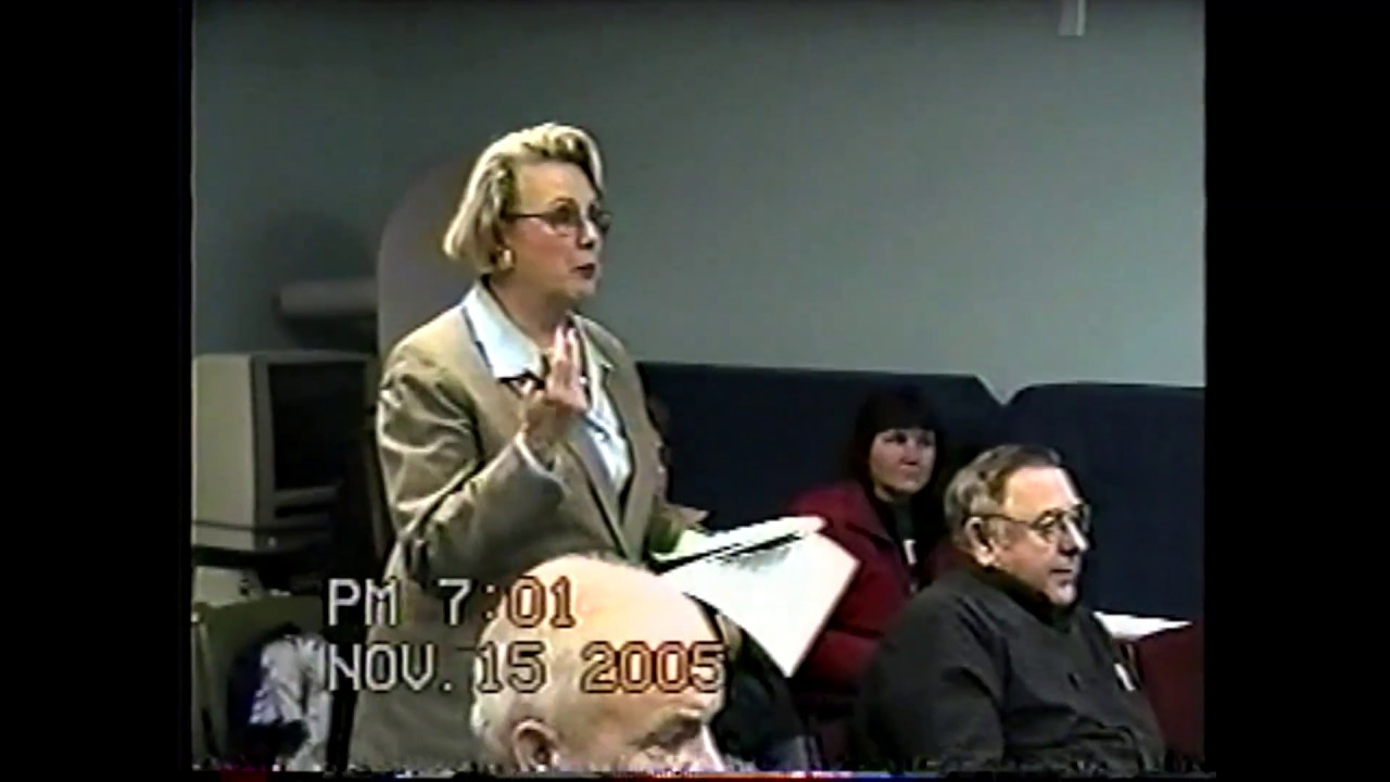Champlain Town Board Meeting  11-15-05