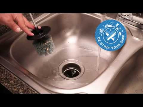 De-Stink Your Sink with Brush.It Garbage Disposal Brush!