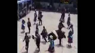 danza carrera de cintas ancash