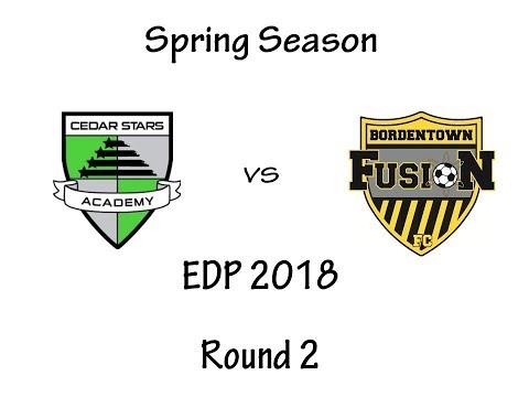 Bordentown FC Fusion vs Cedar Star Academy (Monmouth)