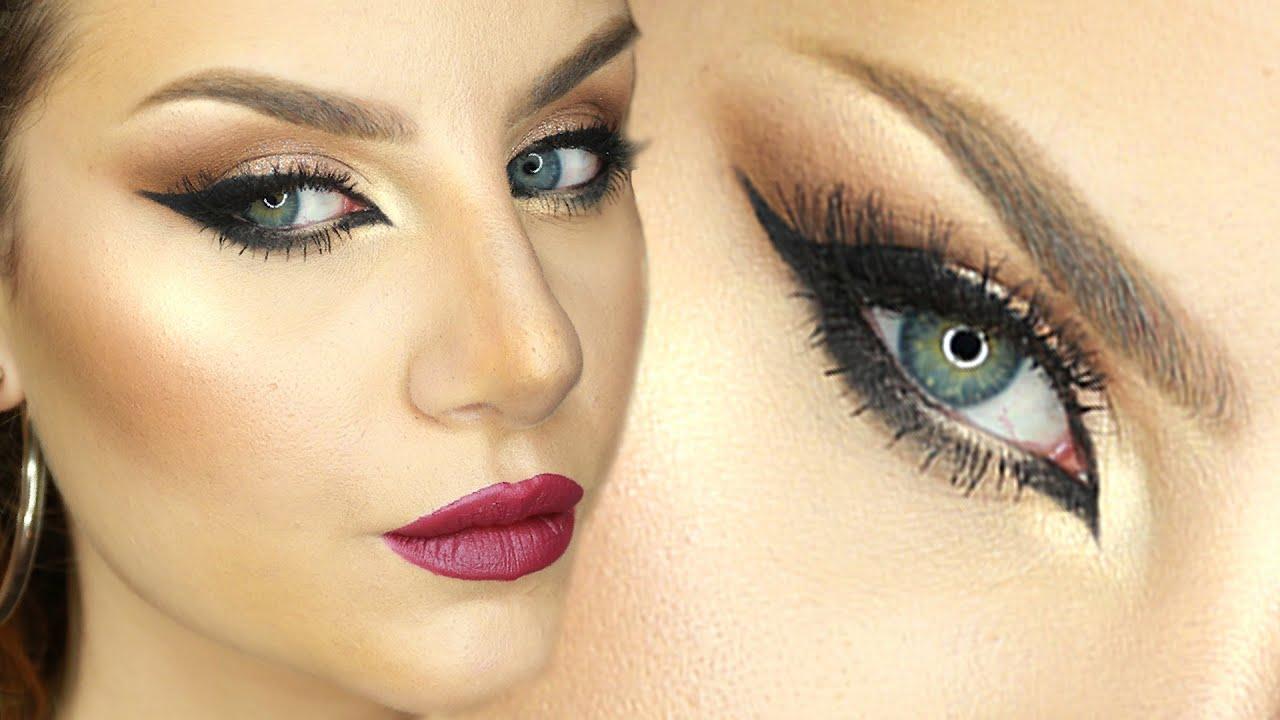 Extrêmement Makeup Tutorial Trucco Arabo Occhi da gatta e Eyeliner sexy ft  LF64