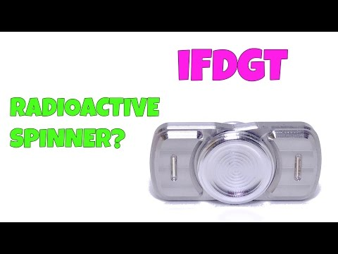 iFDGT Spinner - Venom Defense & Design (Fidget Toy with Tritium)