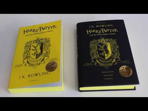 20th Anniversary Harry Potter Book Comparison | June 2017