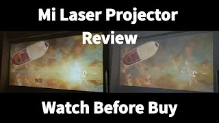 It's worth of buying: Mi laser projection Review [ft. Life of Pi] #samiluo