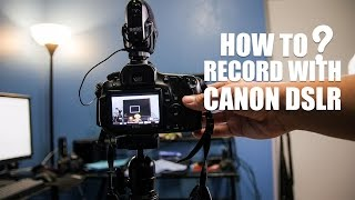 How to record video with Canon DSLR (60D)(I quickly show you in simple steps how to record video with the Canon 60D. Recommended Gear Down Below I illustrate the exact settings you can use to ..., 2016-01-11T01:30:11.000Z)