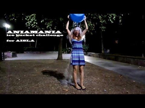 AniaMania ice bucket challenge ALS nomina Simone Albrigi SIO e Francesco Muzzoppappa