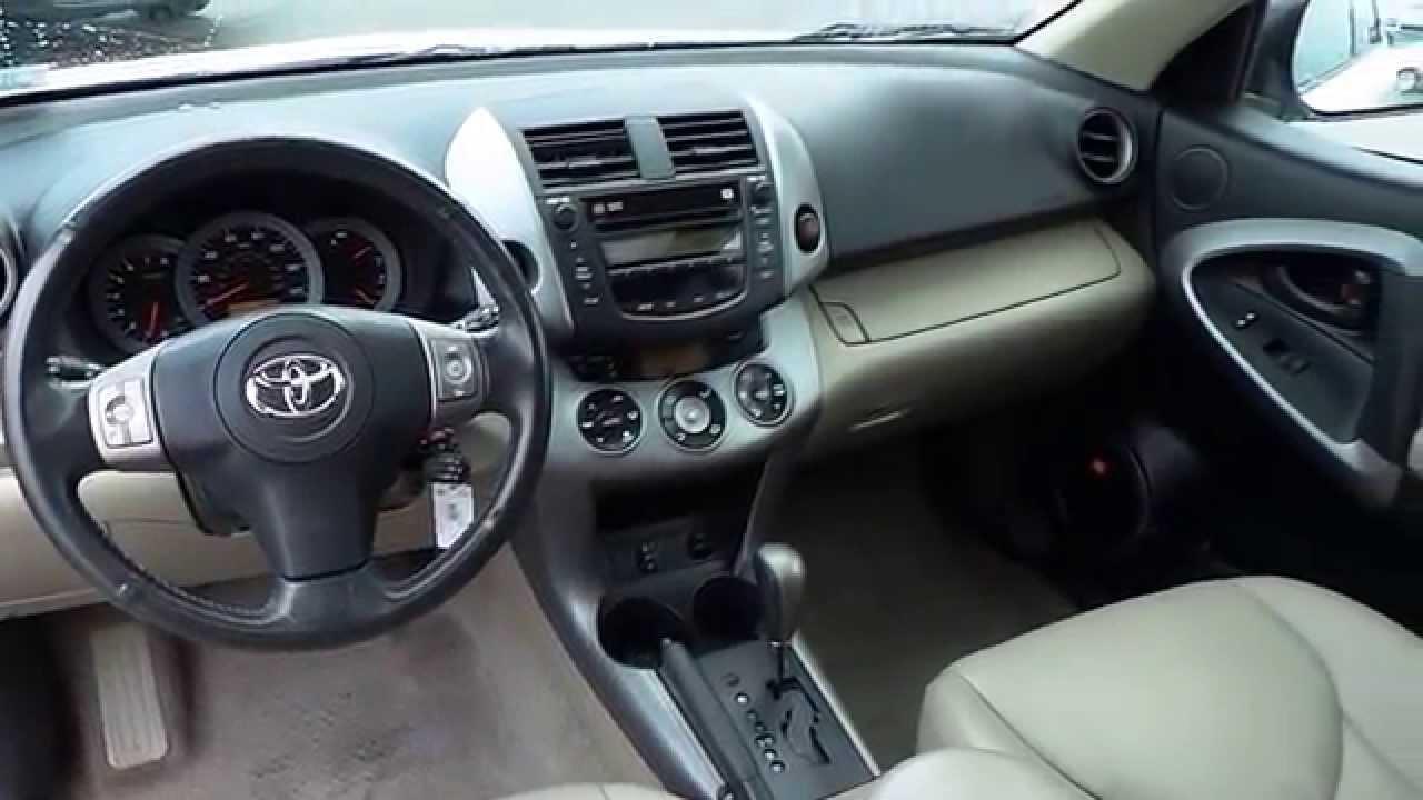 Toyota Of Everett >> 2008 Toyota RAV4, White - STOCK# 31271A - Interior - YouTube