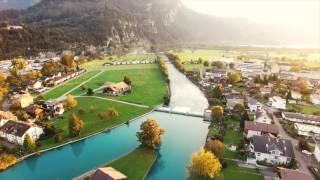 Exploring Interlaken, Switzerland | DJI Drone