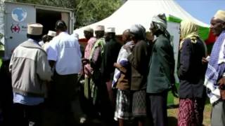 More than 1,000 people in Kinna, Isiolo Thursday benefited from free cancer screening