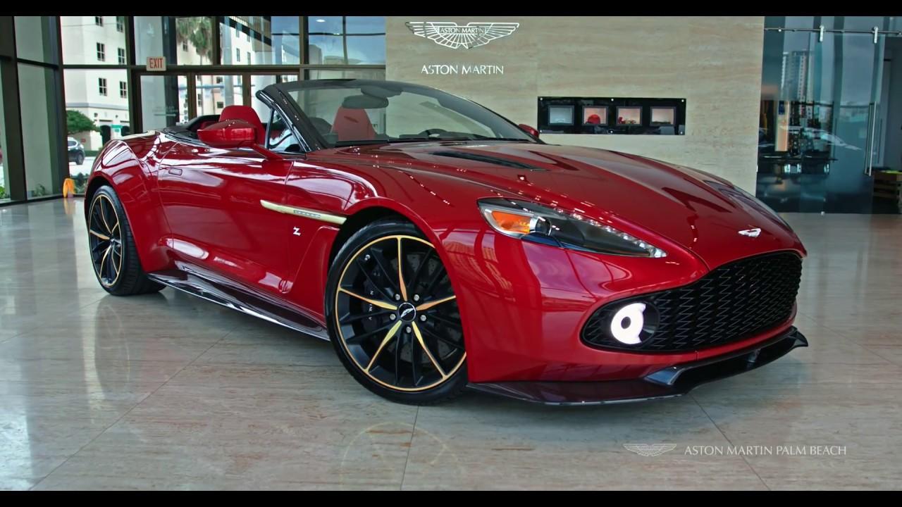Aston Martin Vanquish Zagato Volante Aston Martin Palm Beach YouTube - Palm beach aston martin