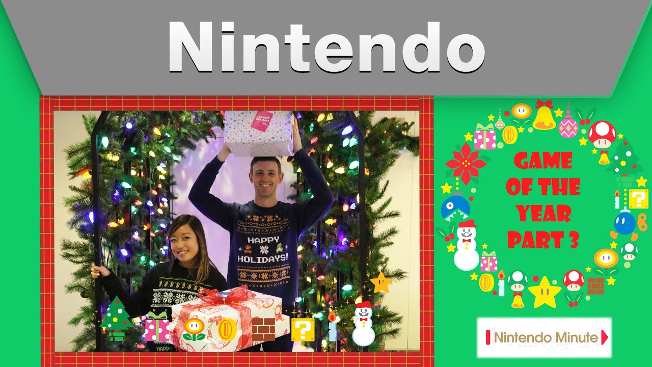 Nintendo Minute – Game of the Year Part 3 - YouTube