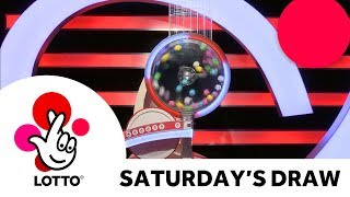 The National Lottery 'Lotto' draw results from Saturday 13th October 2018