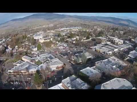 Drone Footage - Lithia Park in Ashland Oregon.