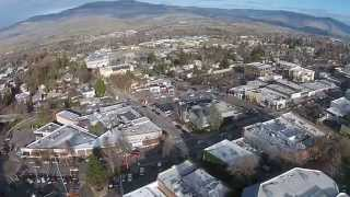 Drone Footage - Lithia Park in Ashland Oregon.