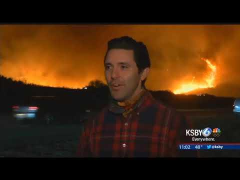 Thomas Fire continues to grow, voluntary evacuations in Carpinteria