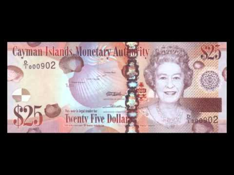 All Cayman Islands Dollar Banknotes - 2010 Issue