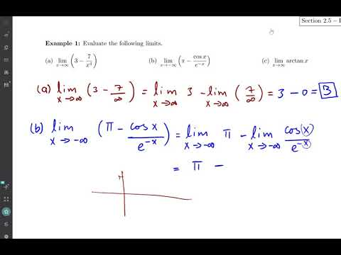 somali Calculus 1 darsiga 7 limits at infinits
