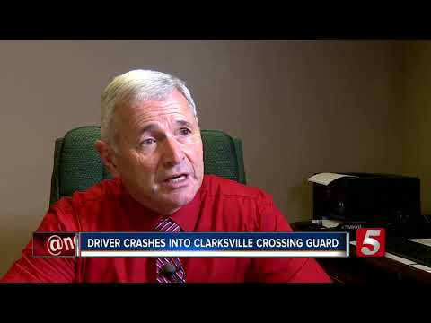 Crossing Guard Hit In Front Of Clarksville School