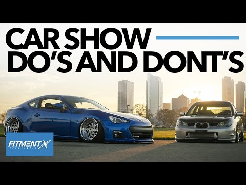 What NOT To Do At A Car Show