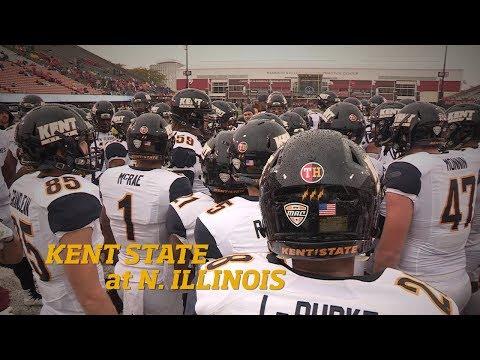 Kent State Football at Northern Illinois 10.7.17