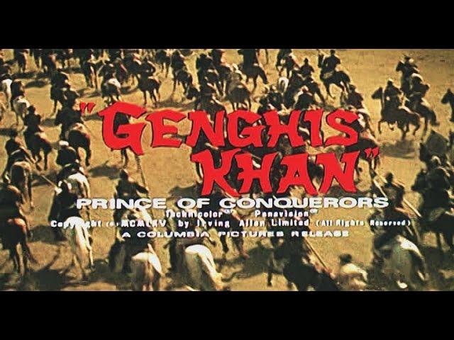 Genghis Khan (1965) TRAILER: Stephen Boyd, Omar Sharif, James Mason, Françoise Dorléac