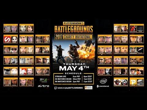 [PUBG] PlayerUnknown's Battlegrounds Charity Invitational - Game 1 EU