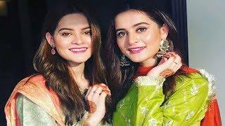 Aiman Khan and Minal Khan Celebrating 2nd 3rd Day of Eid with Family