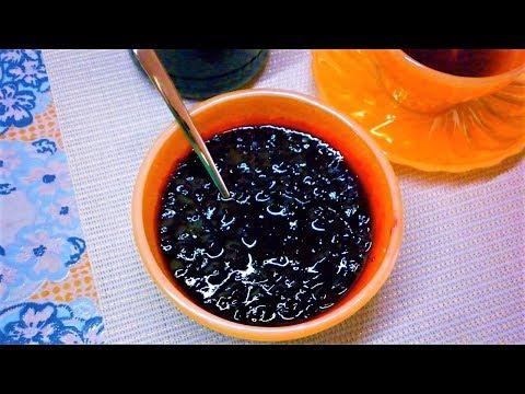 Вкусное Варенье из черной смородины//Простой рецепт варенья из смородины