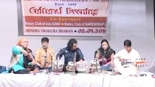 Indian Classical Music Fusion Prodyut Mukherjee Rhythmexprs ( Part - 3 Rhythm Melody Harmony  )