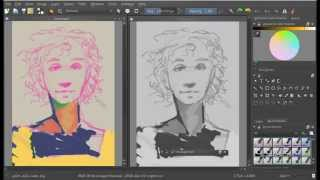 Krita 2.9 quicktip: Value workflow with the LUT docker