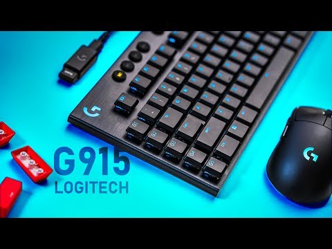 Logitech G915 Lightspeed Keyboard Review - Who Would Buy This?