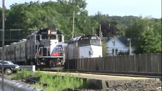 Railfanning Waldwick: New Jersey Transit & Metro North Action - 6-13-2012