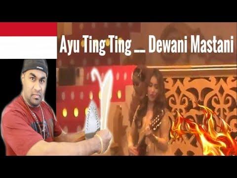 AYU TING TING - 'Deewani Mastani'    INDIAN REACTION TO INDONESIAN VID