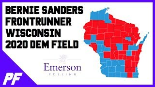 Bernie Sanders Frontrunner Wisconsin Democratic Primary Poll Emerson March 2019