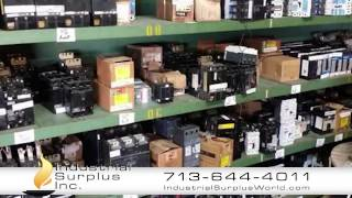 Industrial Surplus World   buyers and sellers of equipment, machines, and excess inventory