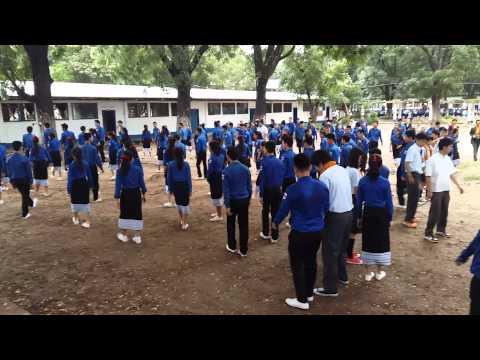 Vientiane High School Visit